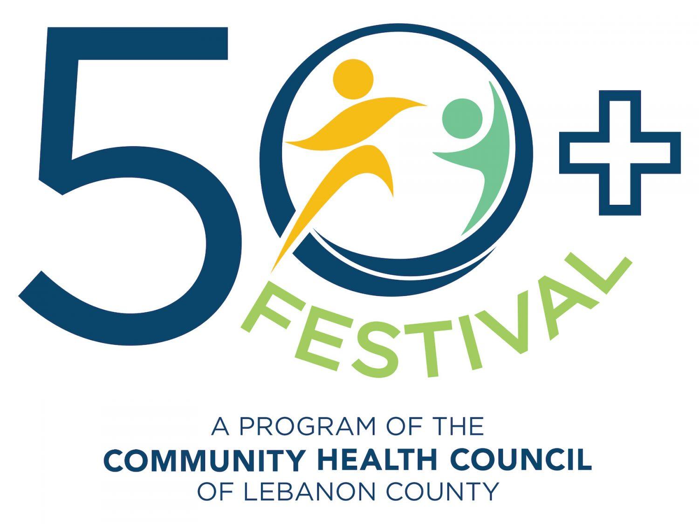 50+ Festival Logo