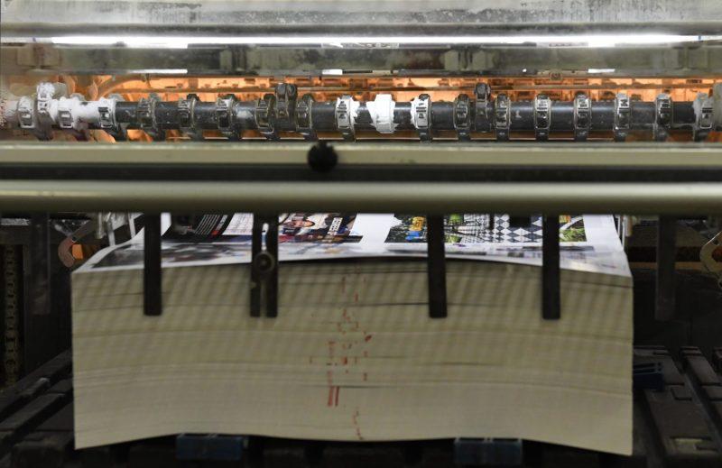 Colortech offset press