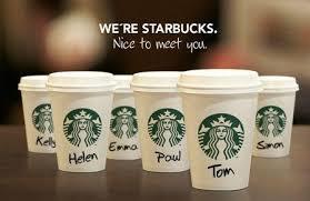 Starbucks advertisement