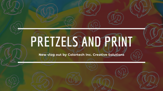 Pretzels and Print vlog