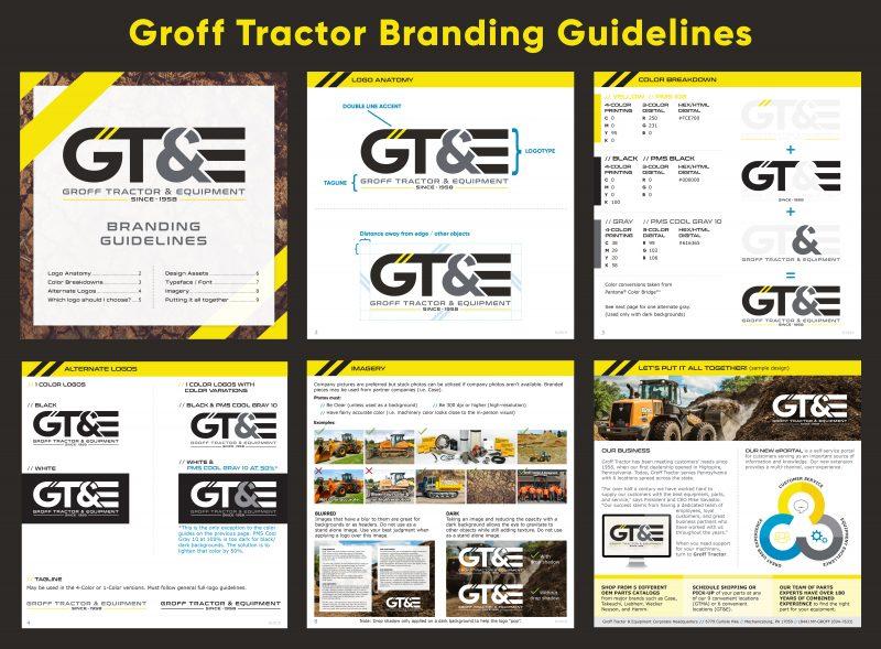 branding design sample