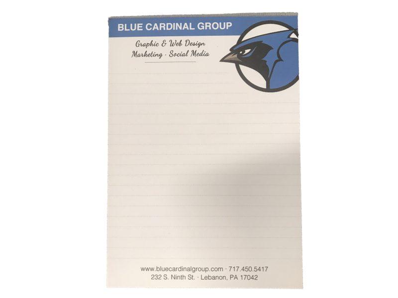 Branded paper tablets- Print marketing materials