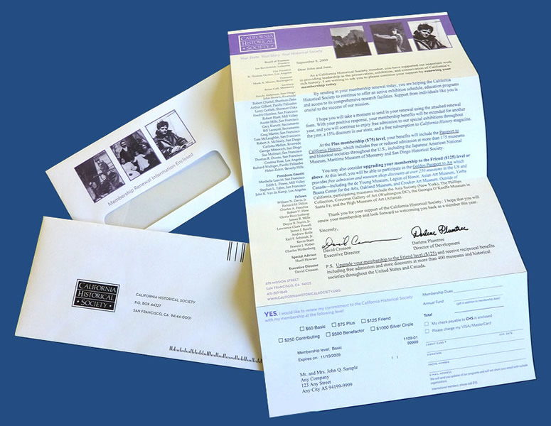 Direct Mail Formats: Letters